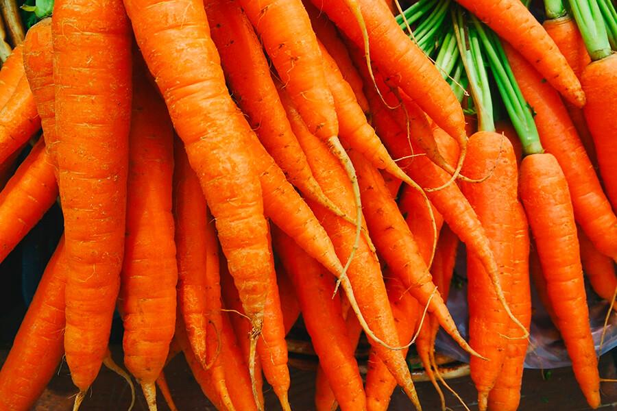 Root garden produce