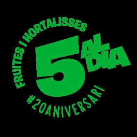 Logo 5 al dia 20 aniversari